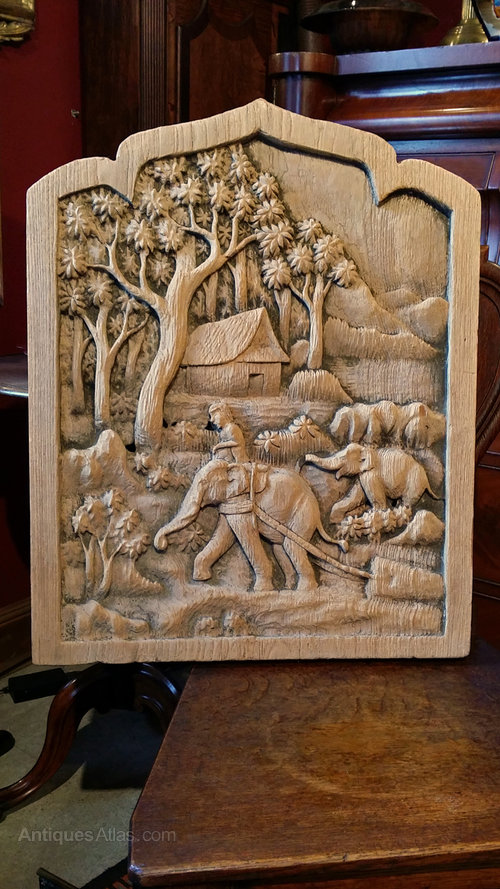 Antiques Atlas Beautiful Thailand Wood Carving