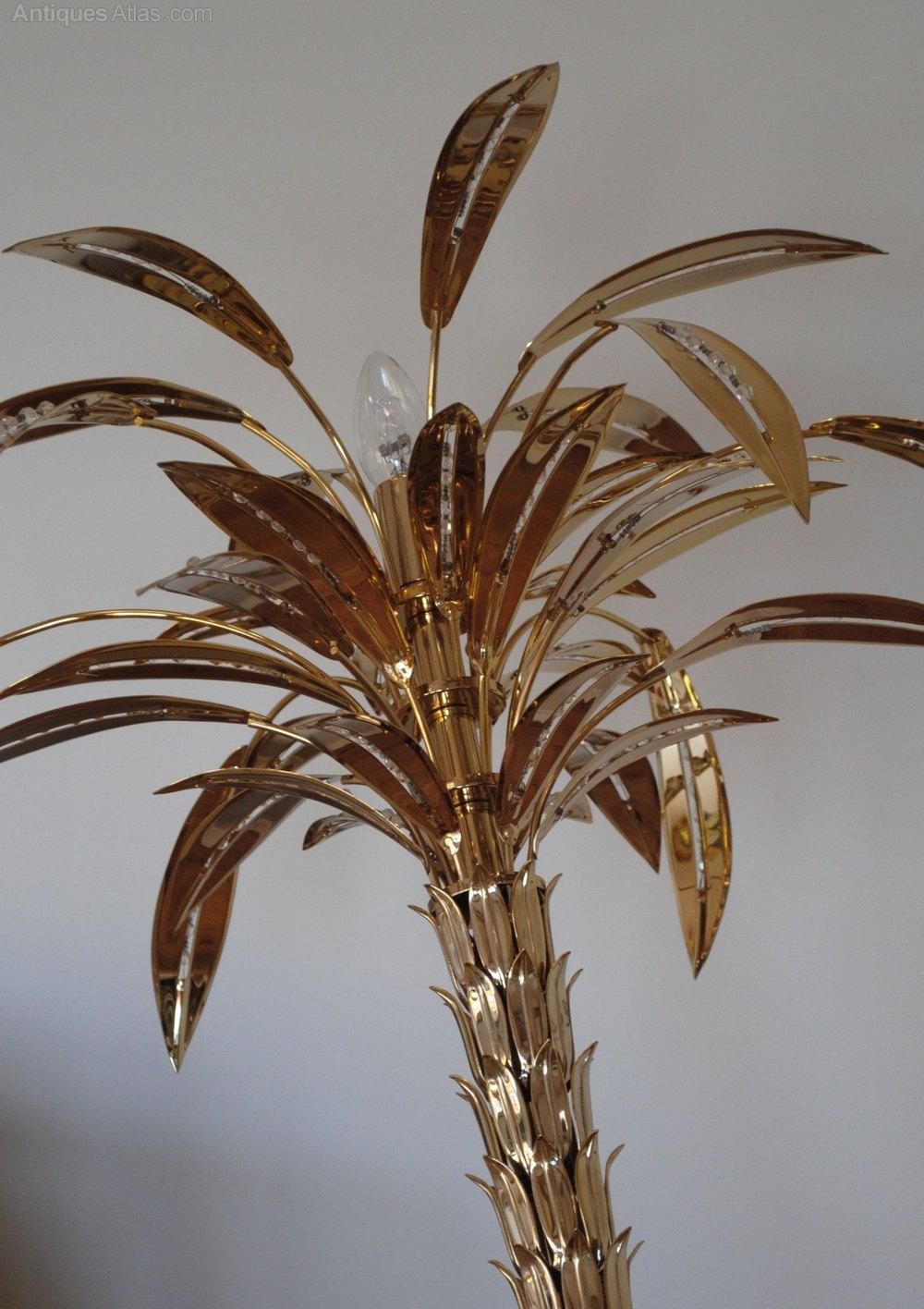 Antiques Atlas 1970 S Vintage Italian Brass Palm Tree