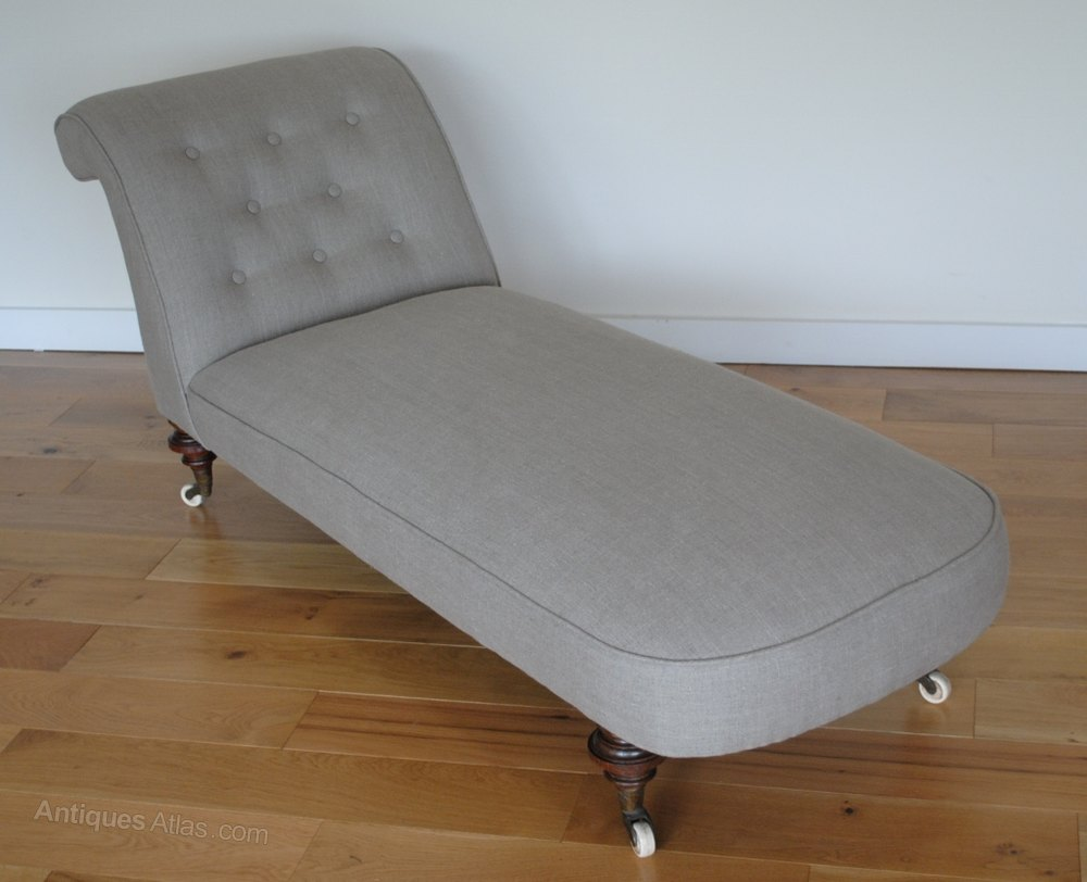 Victorian chaise longue day bed antiques atlas for Chaise longue day bed