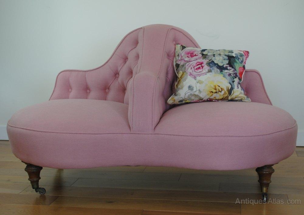 Victorian Conversation Sofa Love Seat Antiques Atlas