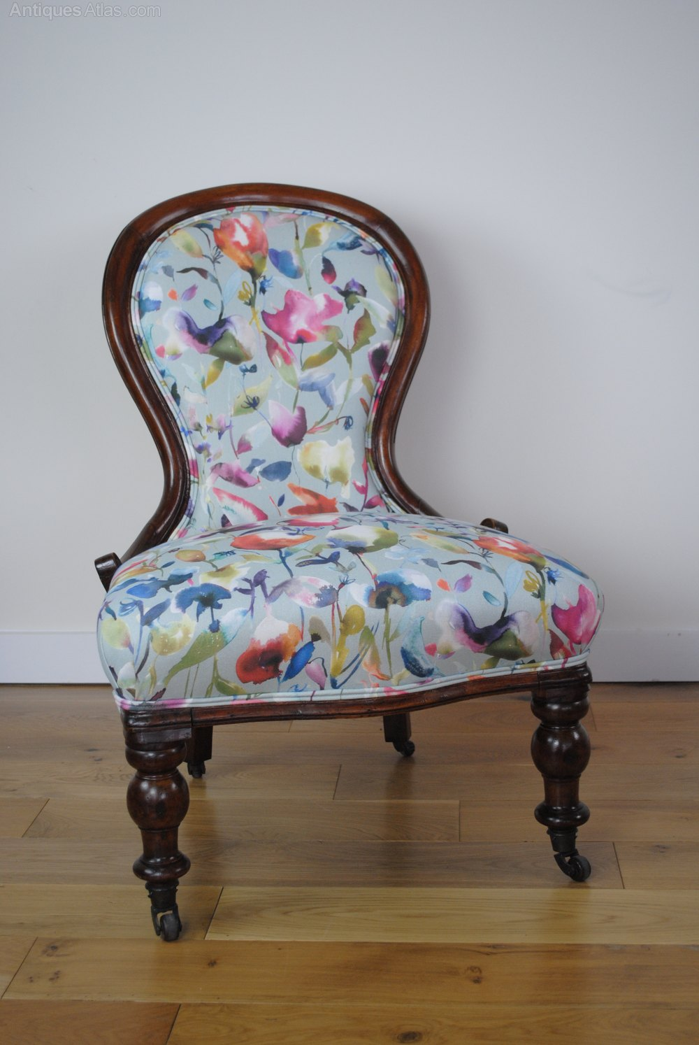 reduced - victorian nursing chair