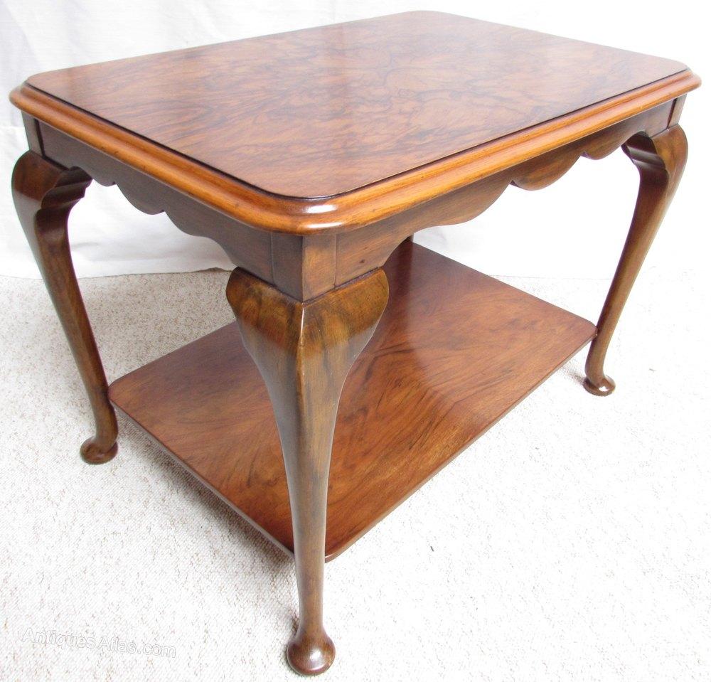 Burr Walnut Coffee Table Antiques Atlas