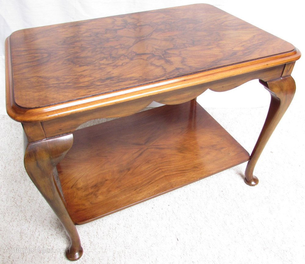 Burr Walnut Coffee Table Antiques Atlas