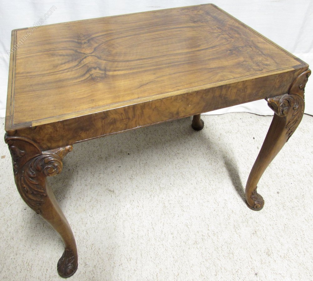 Cute Walnut Coffee Table Antiques Atlas