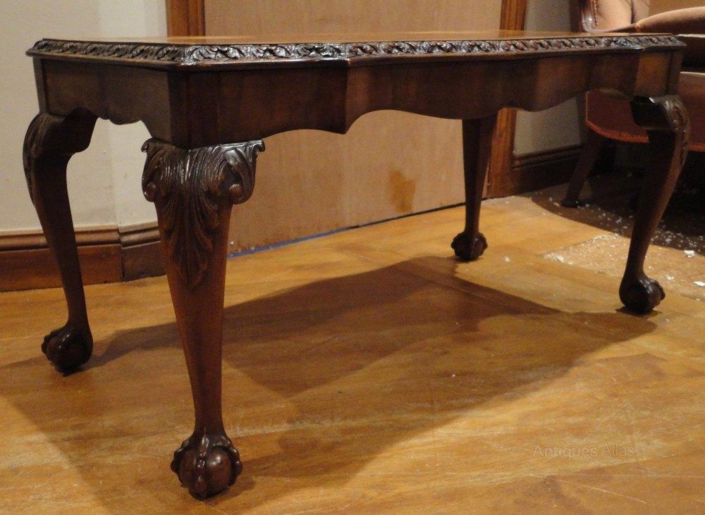 Quality Burr Walnut Coffee Table Antiques Atlas