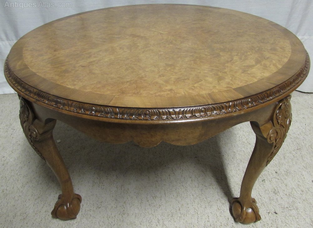 Super Quality Burr Walnut Coffee Table Antiques Atlas