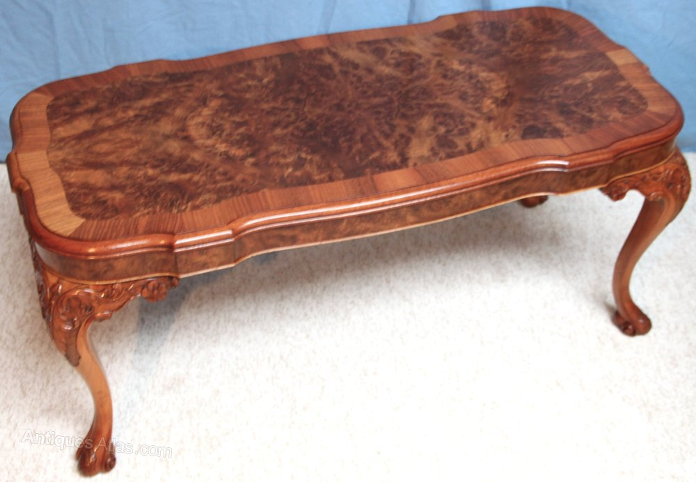 Superb Quality Burr Walnut Coffee Table Antiques Atlas