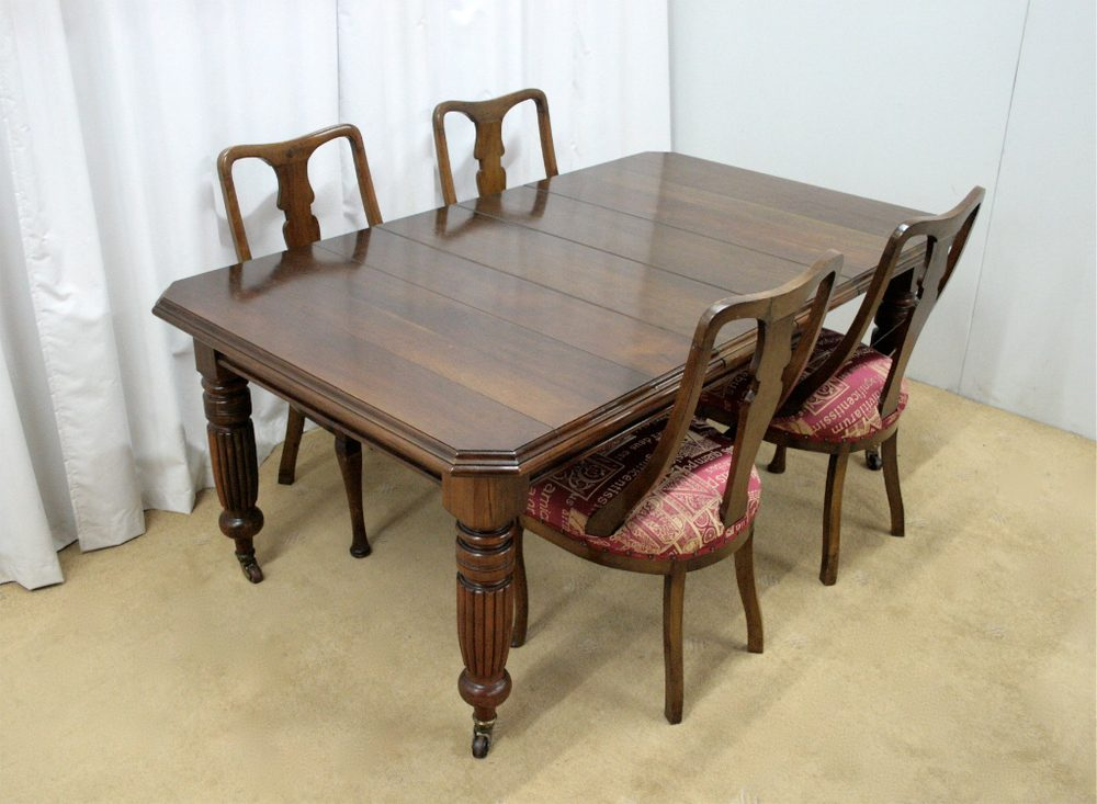 Victorian Dining Table amp Chairs Antiques Atlas : VictorianDiningTableChairsas087610z 1 from www.antiques-atlas.com size 1000 x 733 jpeg 93kB
