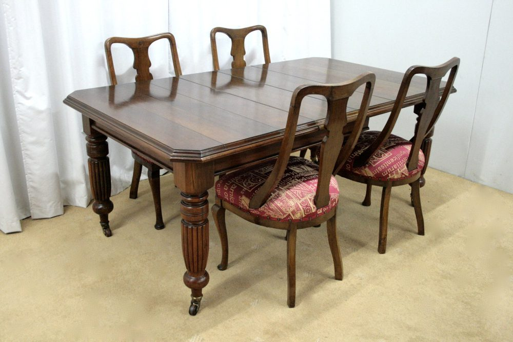 Victorian Dining Table Amp Chairs Antiques Atlas