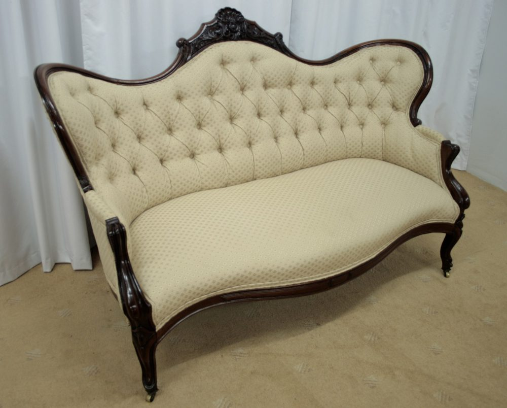 Victorian mahogany chaise longue chair antiques atlas for Antique chaise longue for sale