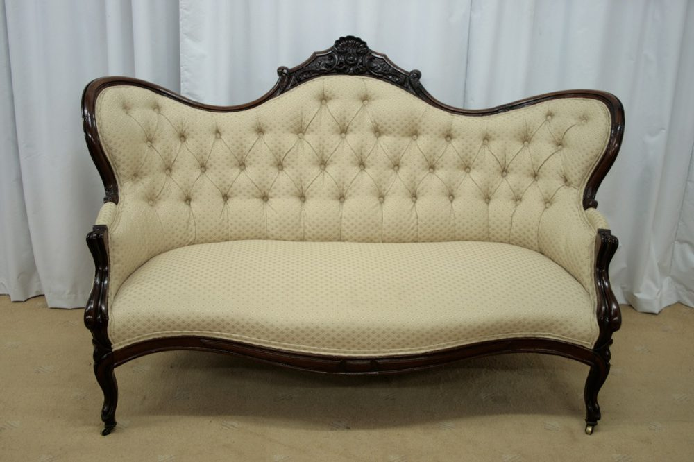 Victorian mahogany chaise longue chair antiques atlas for Antique victorian chaise