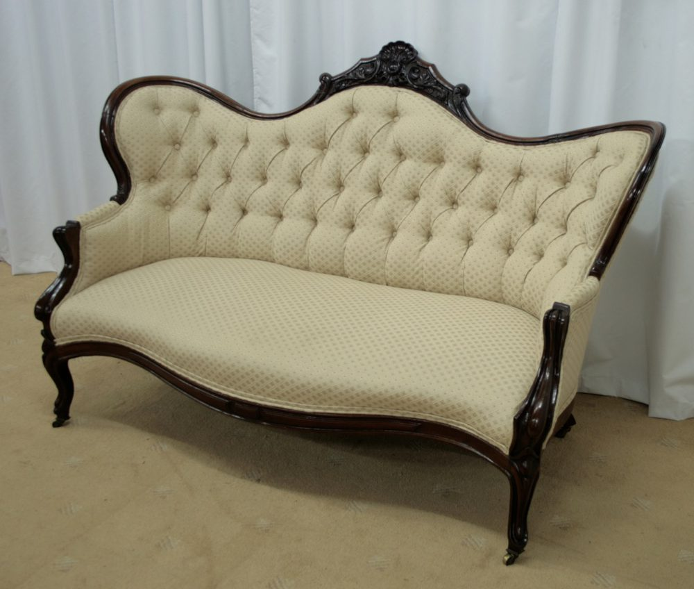 Victorian mahogany chaise longue chair antiques atlas for Antique victorian chaise longue