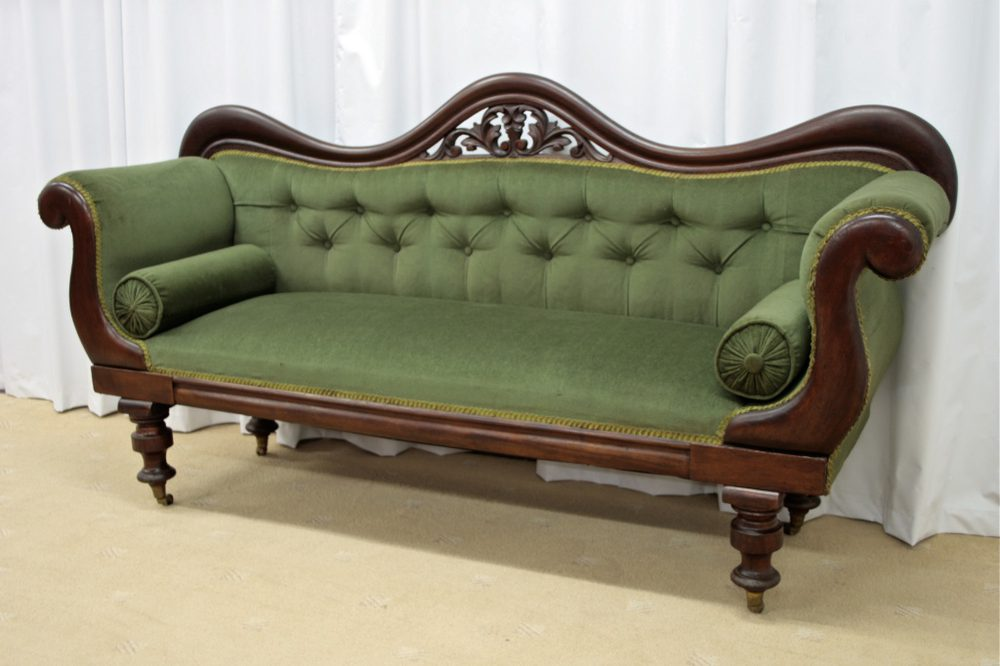 Victorian Mahogany Sofa 1880 Antiques Atlas