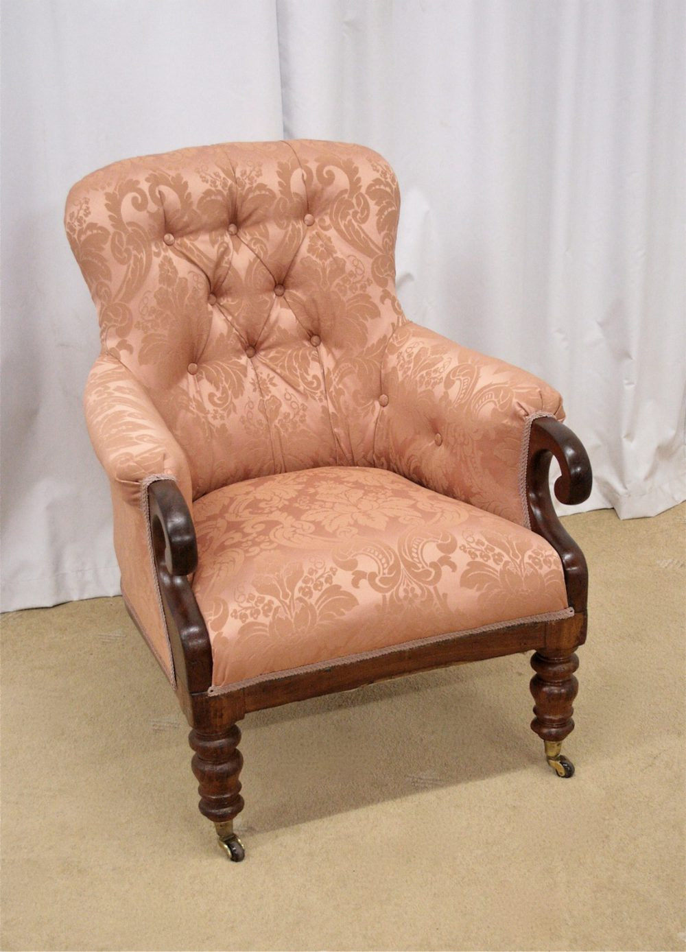 Victorian Spoon Back Chair - Antiques Atlas