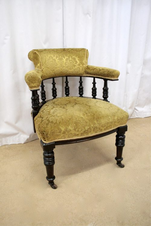 - Victorian Tub Chair - Antiques Atlas