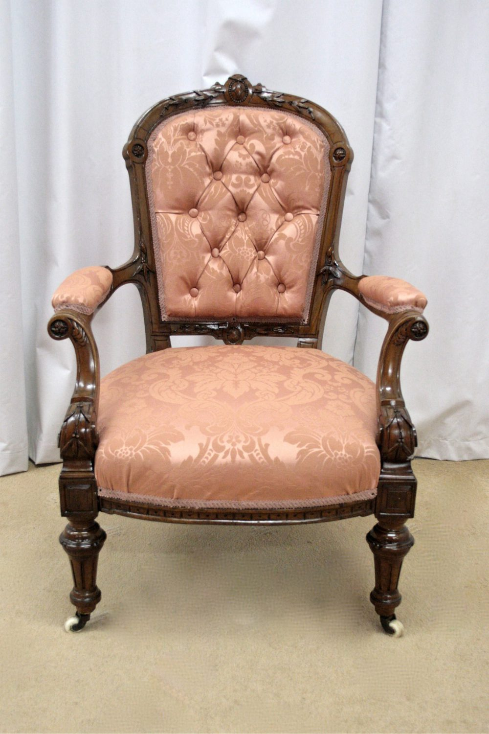 Victorian Walnut Armchair Antiques Atlas