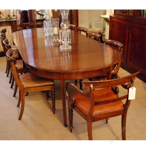 10 seater d end extending dining table antiques atlas for 10 seater dining table
