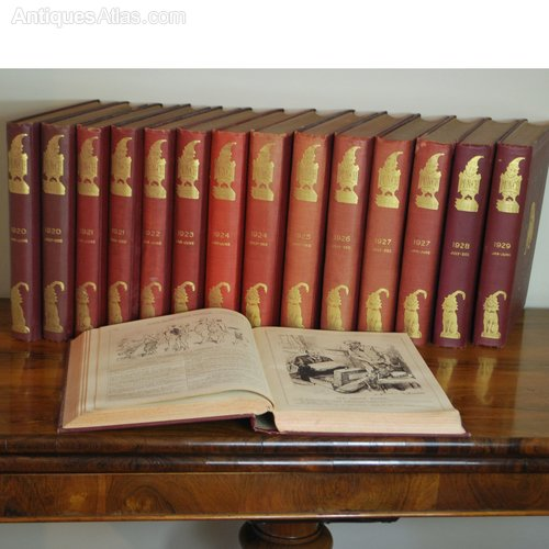 Punch Volumes or the London Charivari World War 1 Full Set 1914 to 1918