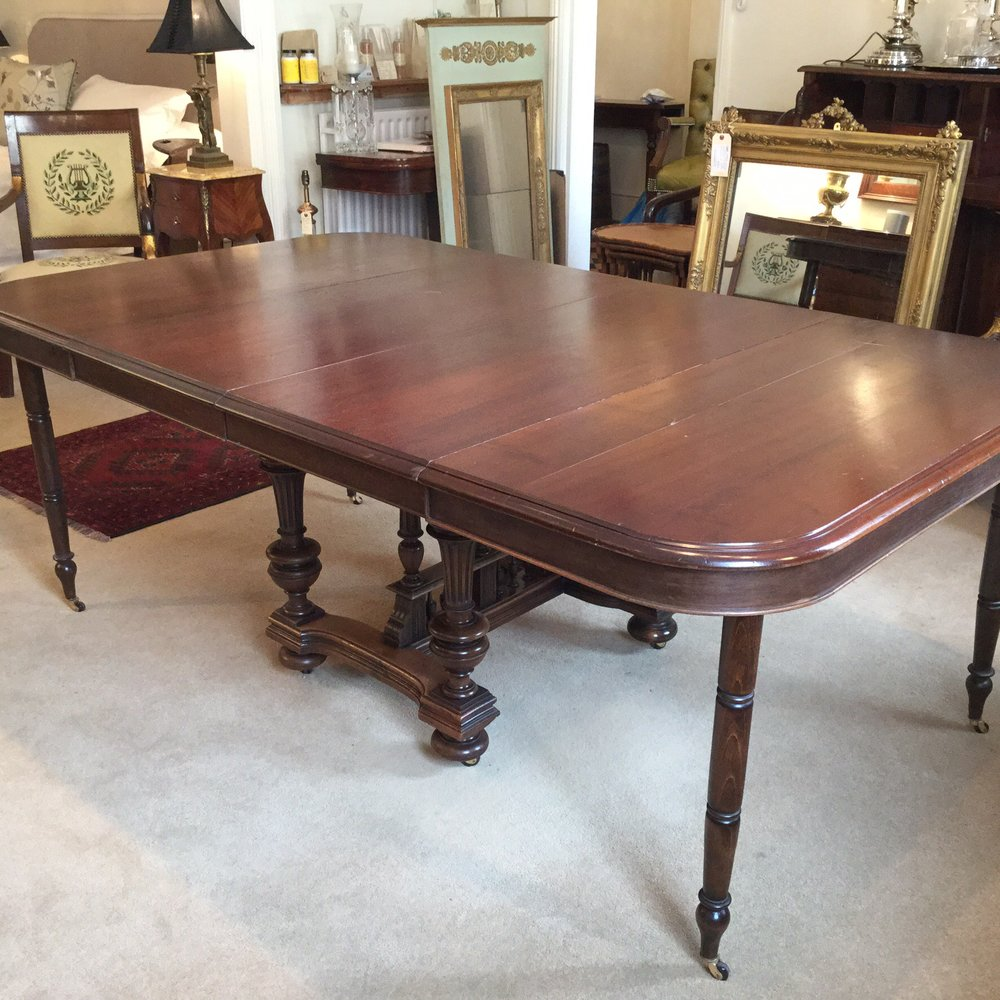 antique french extending dining table 10 seater antiques