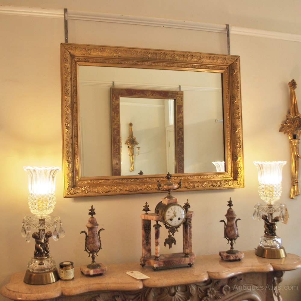 Antiques atlas antique french gilt mirror for Antique french mirror