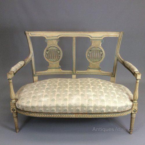 French 2 seater canape sofa antiques atlas for French canape sofa