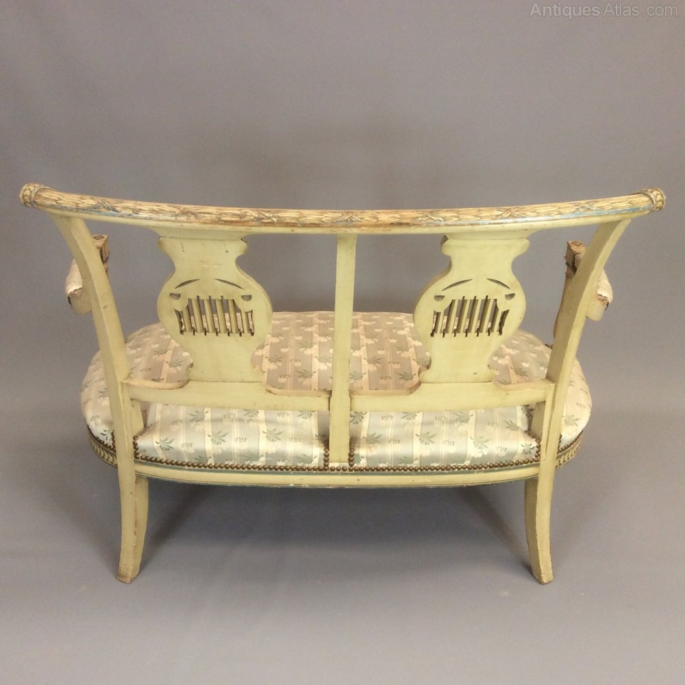 French 2 seater canape sofa antiques atlas for Canape furniture
