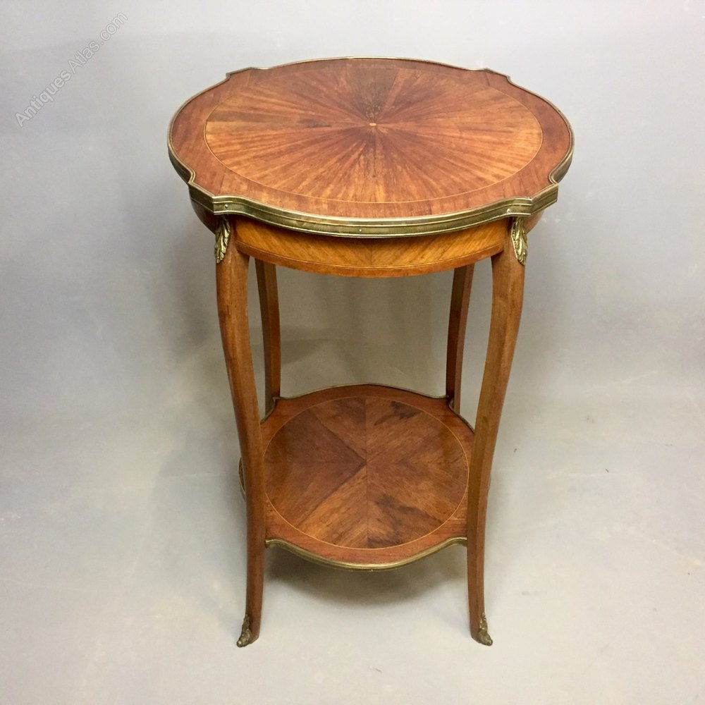 French louis xv style side table antiques atlas - Table louis xv ...