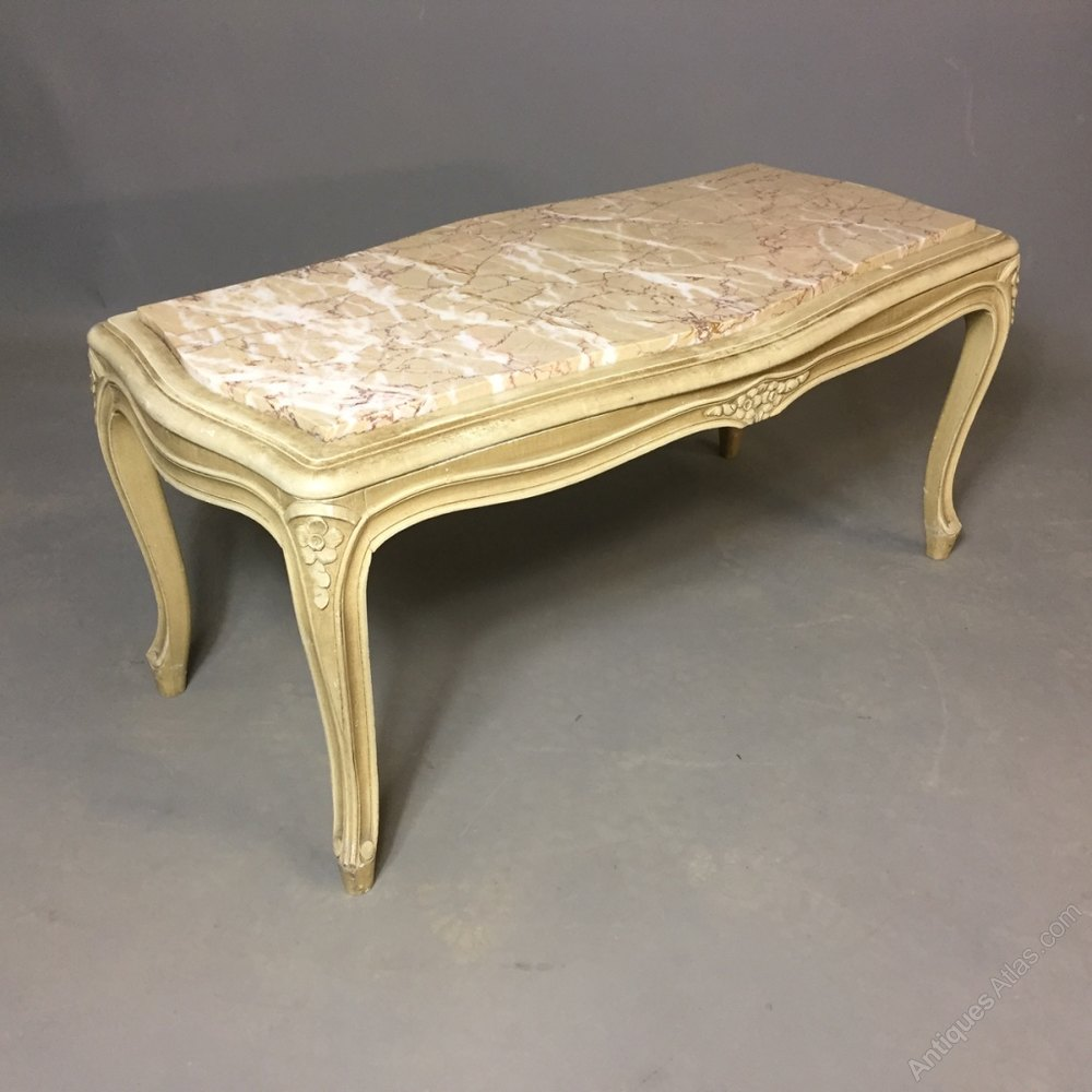 French Louis Xv Style Coffee Table Antiques Atlas