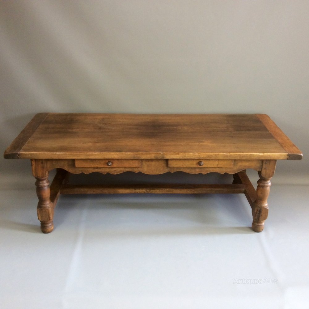 French Oak Coffee Table Antiques Atlas