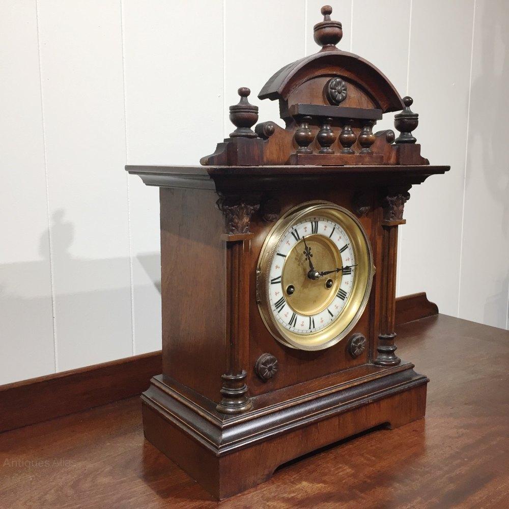 Antiques atlas german mantle clock by hac german mantle clock by hac antique mantel clocks amipublicfo Choice Image