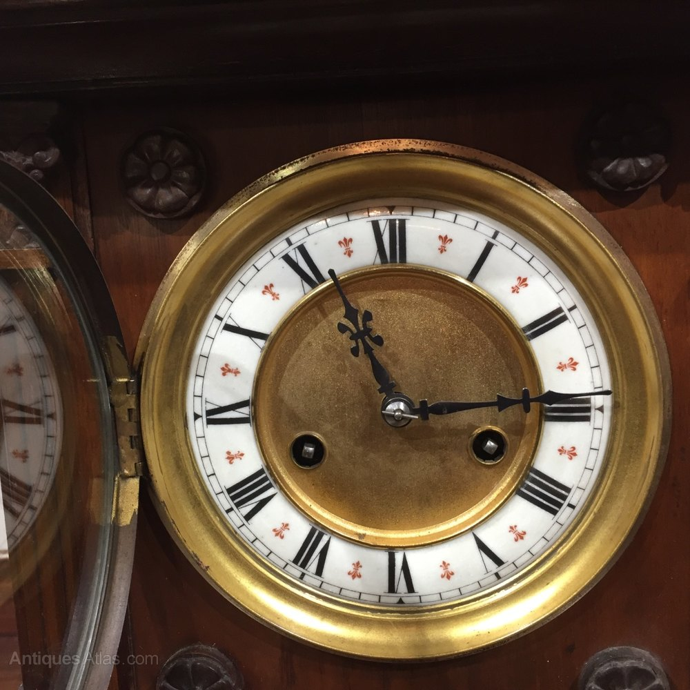 Antiques atlas german mantle clock by hac mantle clock chime hac amipublicfo Choice Image