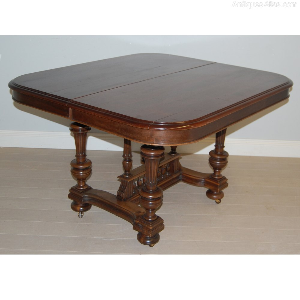Henri ii extendable dining table c1880 antiques atlas - Antiques dining tables ...
