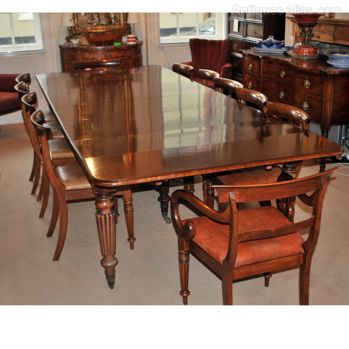 Large extending dining table 14 seater 13 39 6 antiques atlas for 14 seater dining table