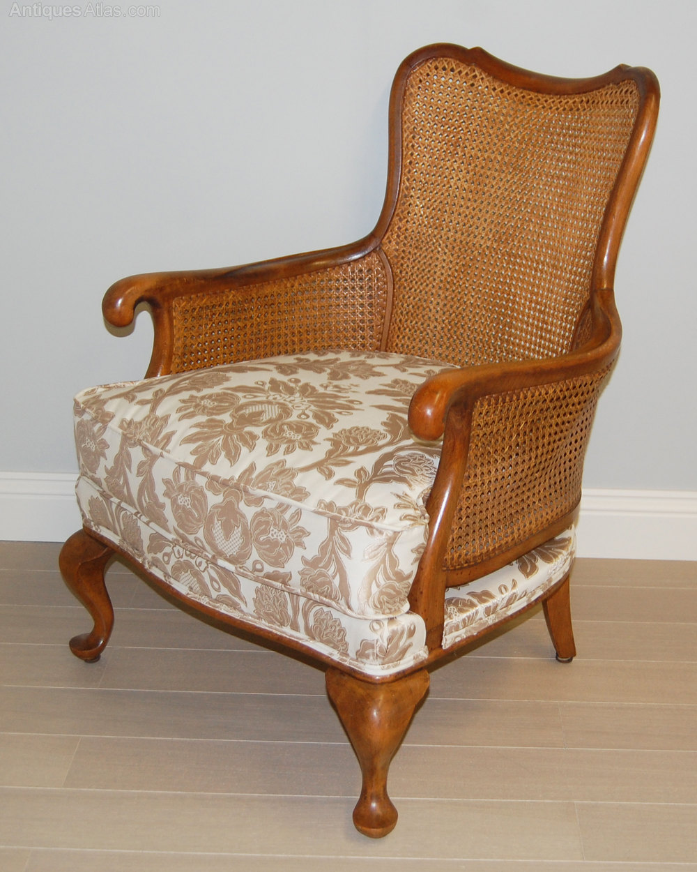 Pair Of French Cane Bergere Armchairs Antiques Atlas