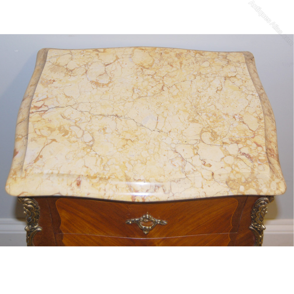 Pair Of Louis Xv Marble Top Bedsides Antiques Atlas