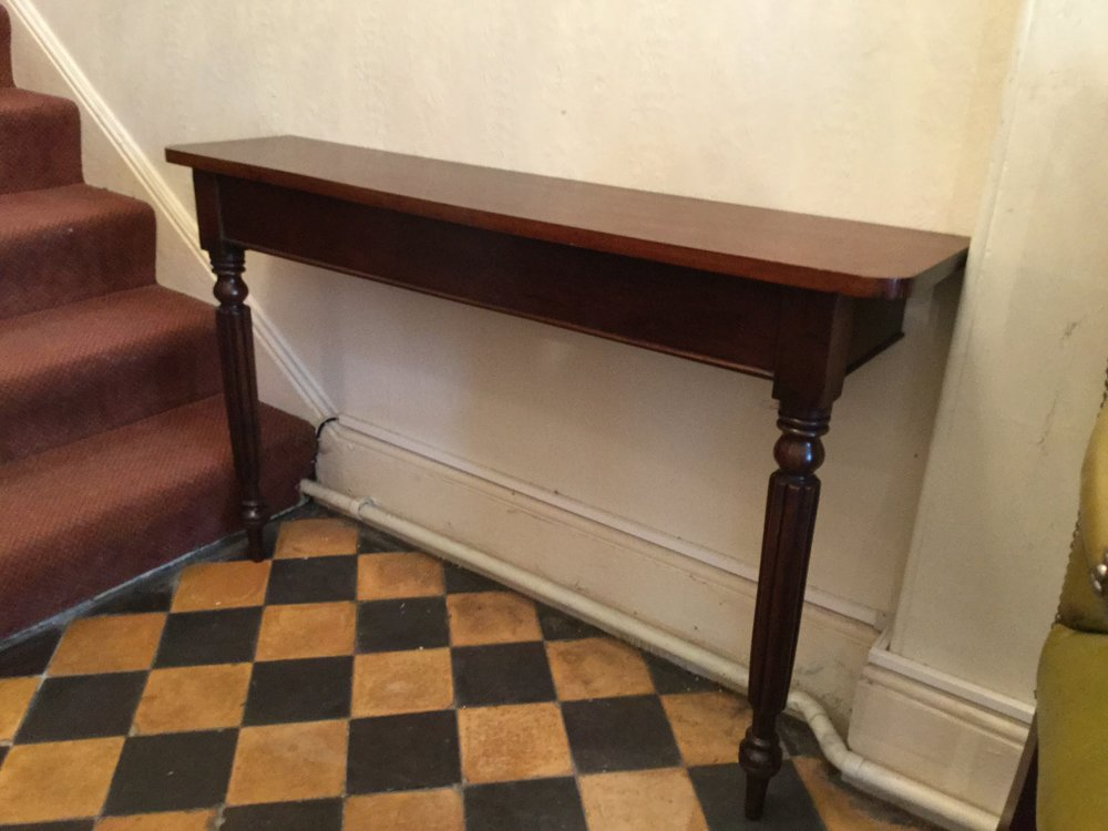 slim hall table or console table antiques atlas