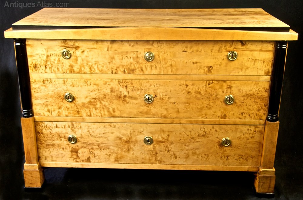 Antique biedermeier chest of drawers commode antiques atlas - Commode vintage ninedesign ...
