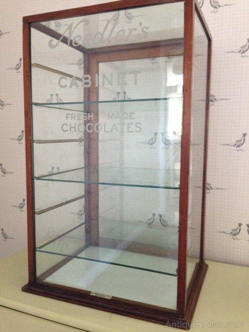 Elegant Vintage Shop Display Cabinet ...