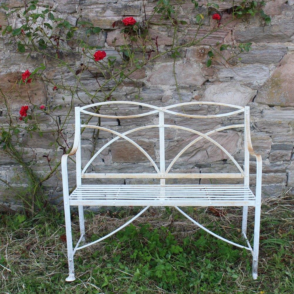 Antiques Atlas Antique Regency Wrought Iron Garden Seat