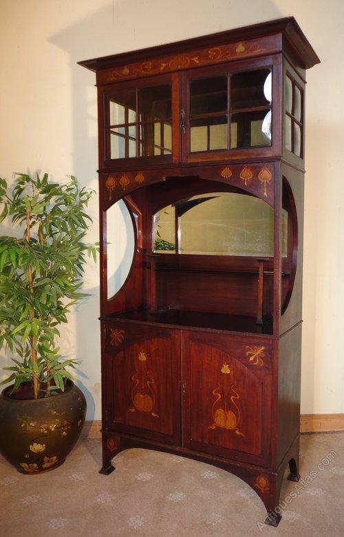 Art Nouveau Display Cabinet Shapland Amp Petter Antiques
