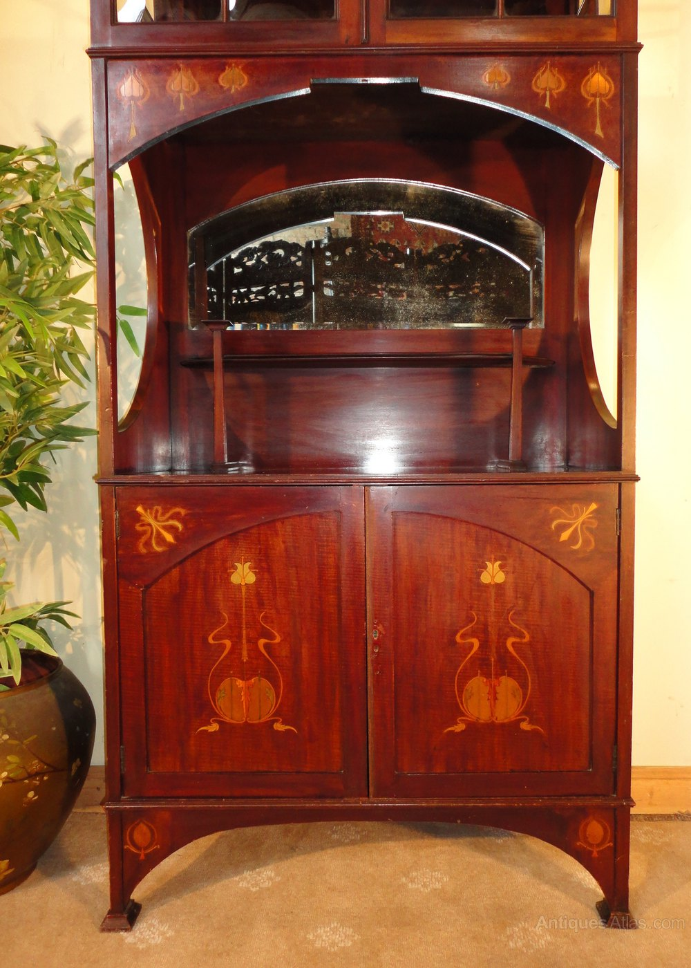 Art Nouveau Display Cabinet Shapland Amp Petter Antiques