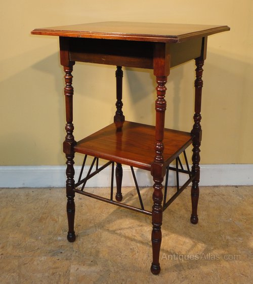 E W Godwin Style Aesthetic Square Side Table Antiques Atlas