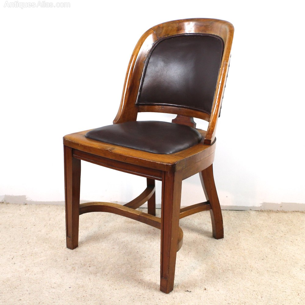 Bow Back Dining Chairs ~ Set of victorian walnut bow back dining chairs
