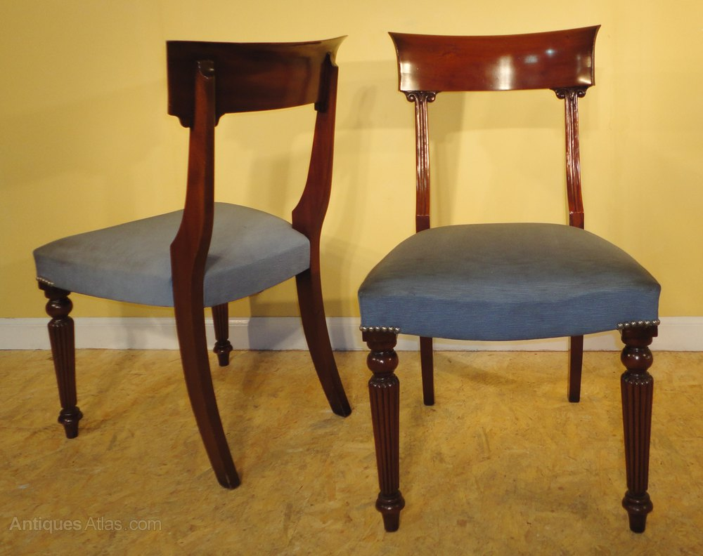 Antiques Atlas Ten Regency Style Dining Chairs By Frank Hudson