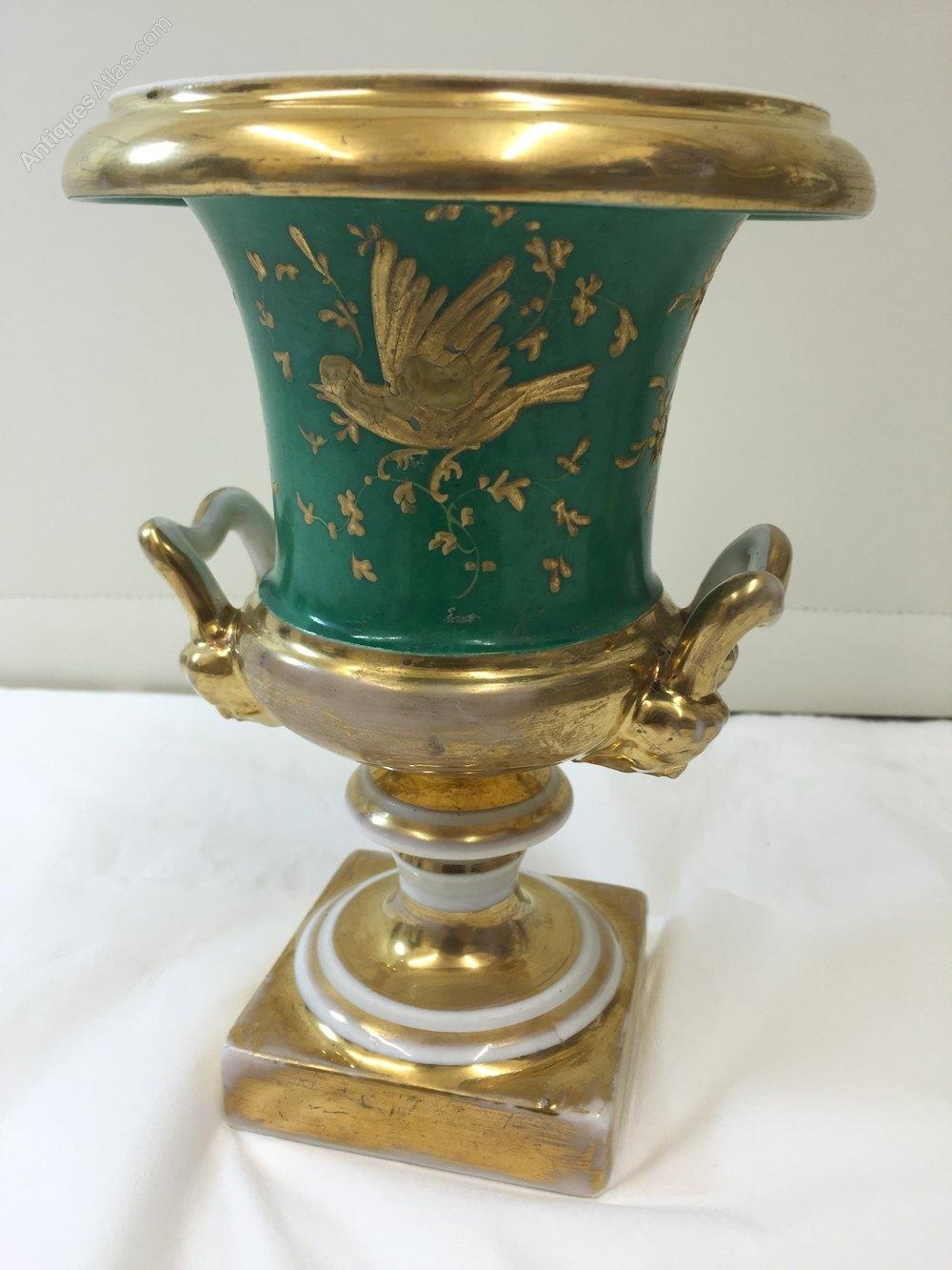Antiques Atlas Antique Campagna Shape Porcelain Vase