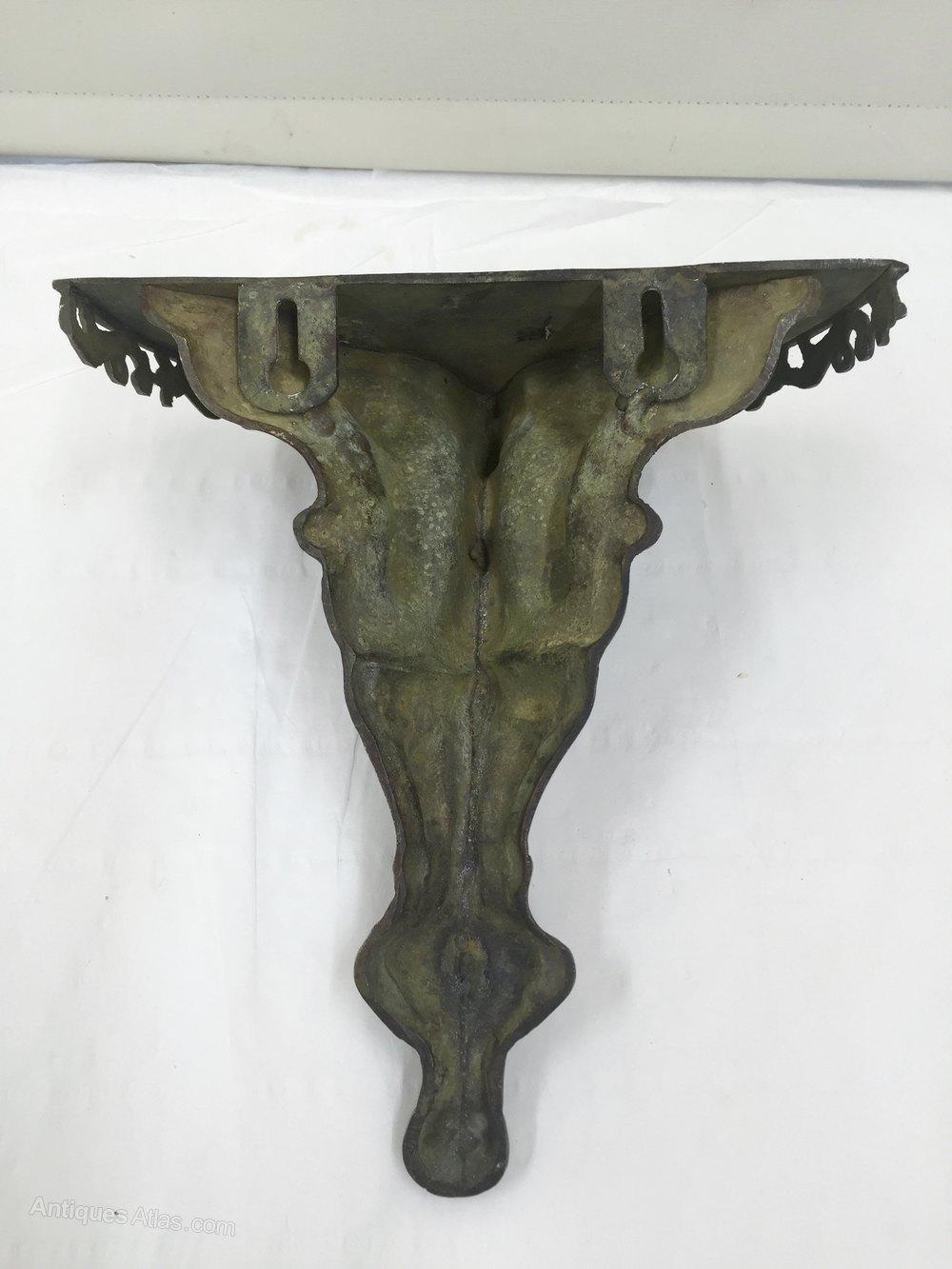 Decorative Wall Shelves Metal : Antiques atlas antique decorative metal wall bracket shelf
