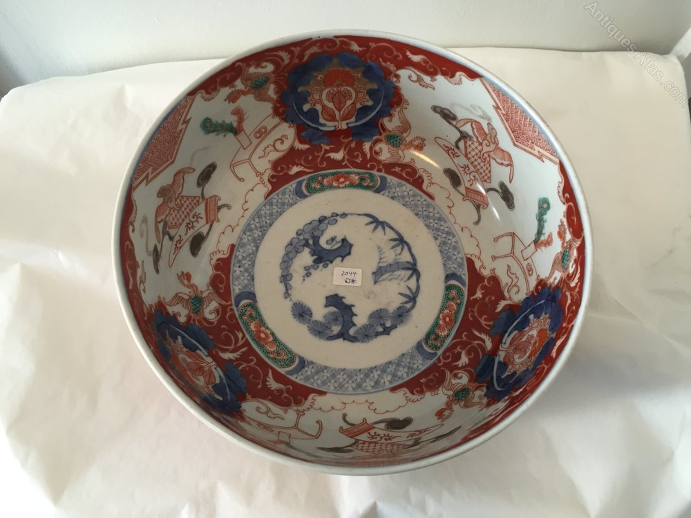 Antiques Atlas Antique Imari Porcelain Bowl Circa 1850