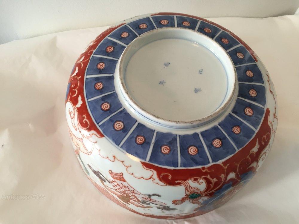 Exotic Birds For Sale >> Antiques Atlas - Antique Imari Porcelain Bowl Circa 1850
