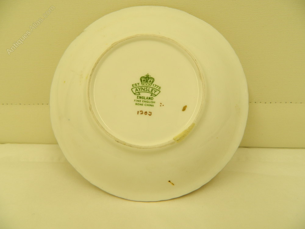 Antiques Atlas Aynsley China Small Dish Fruit Pattern