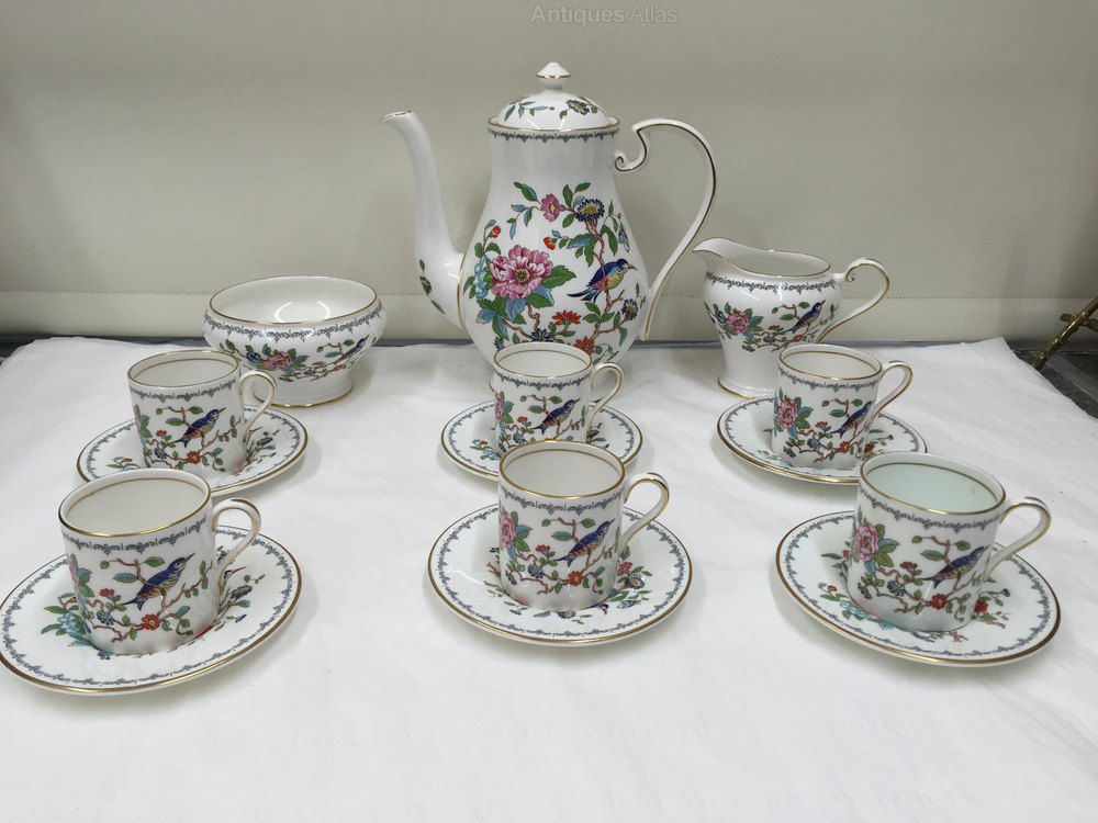 Antiques Atlas Aynsley Porcelain Coffee Service